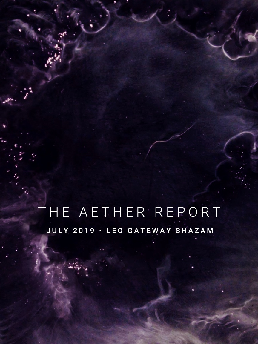 THE AETHER REPORT | July Leo Gateway 2019 — RETURN OF THE SACRED
