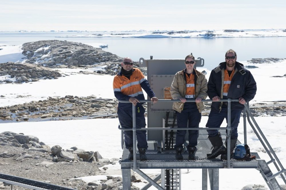 Expeditioners at Casey research station (Photo by Chris Crerar) image courtesy of Australian Antarctic Division.jpg