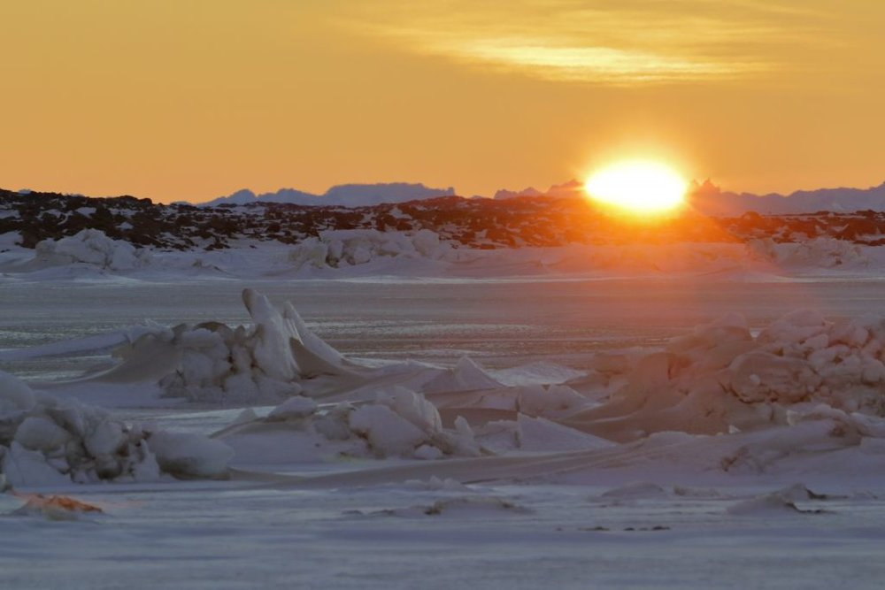 The sun won_t reappear above the horizon until 10 July. (Photo by Richard Graney) image courtesy of Australian Antarctic Division.jpg