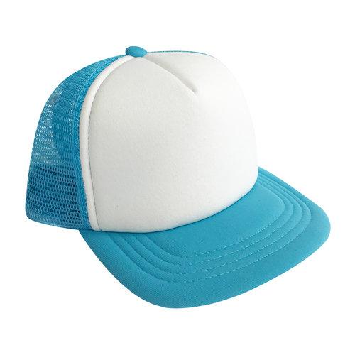 3aad69349 BLUE & WHITE - INFANT TRUCKER HAT