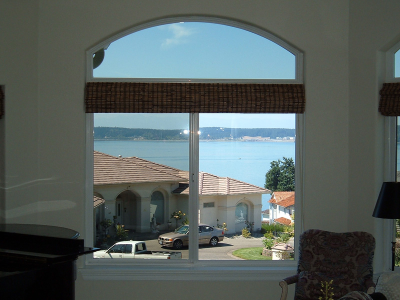 Solar shades for windows
