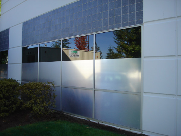 Blackout window film
