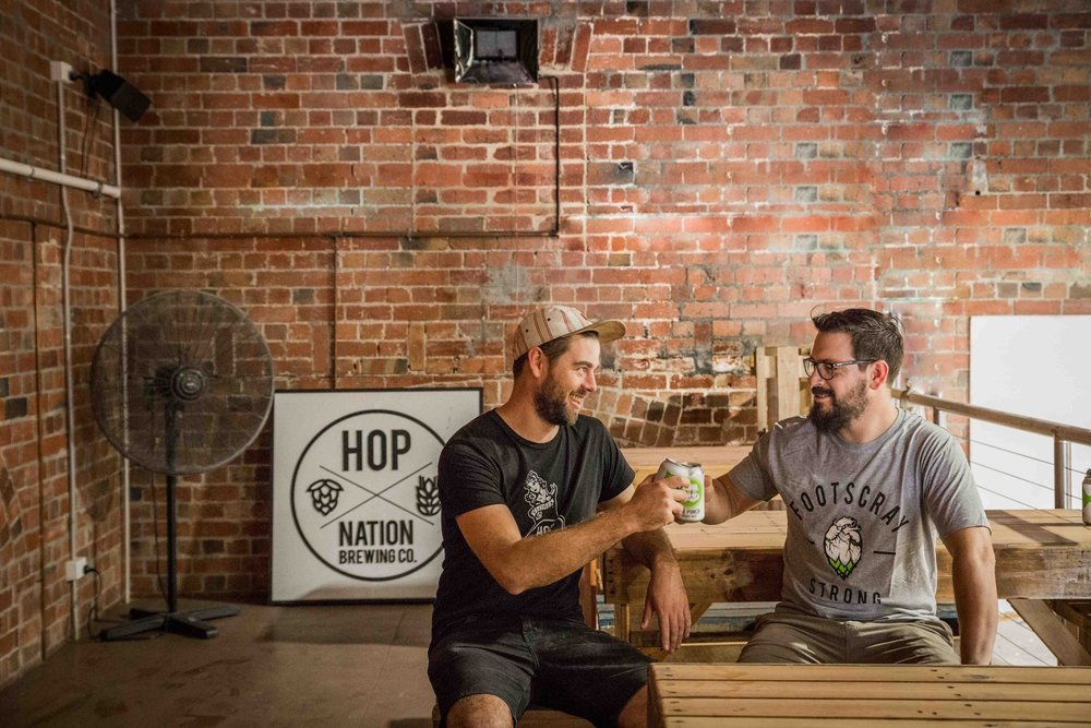 Hop Nation Brewing Co. - Brewer: Sam H. / Dunc G.