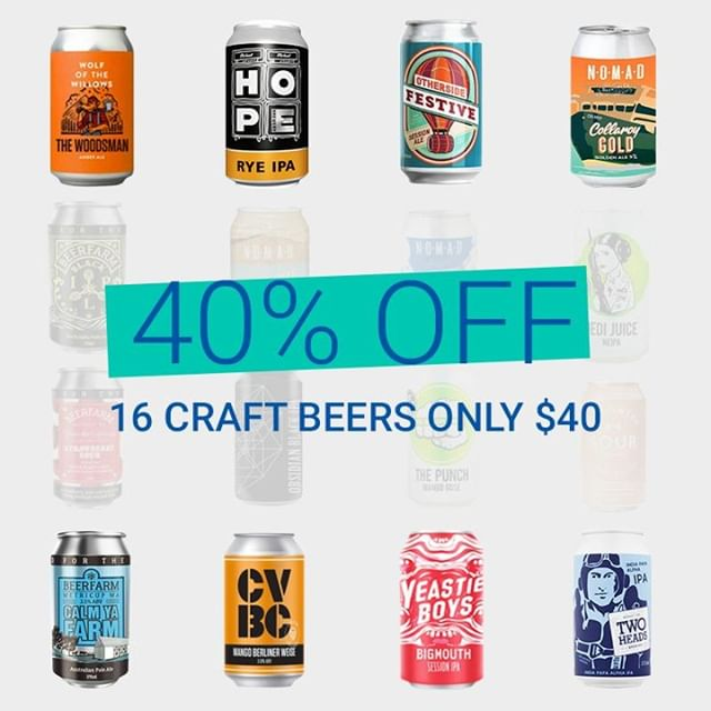 We are offering 40% OFF the Beerology March Box for all new subscribers that sign up by 11.59PM AEDT on March 5th. Simply use code BG40 at check-out. 🍻16 small-batch craft beers delivered to your door each month 💥No lock-in contracts. Pause or cancel at anytime 🚛Flat rate shipping Only 2 days left to ensure you get 40% OFF so grab it quick! . . . #beerology #beerdelivery #craftbeersubscription #beer #craftbeer #drinklocal #brew #brewery #craftbeerlover #craftbeerdeal #australiancraftbeer