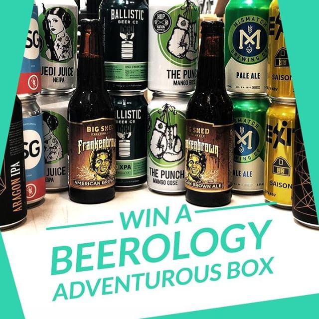GIVEAWAY! 🍻🍻 #WIN a Beerology Adventurous Box! 16 awesome craft beers hand-picked from the best local brewers, valued at $88. . To enter, all you have to do is:  1️⃣ Follow @beerology.net.au 2️⃣ Like this post 3️⃣ Submit the online form (link in bio) and tell us what food you like to pair your craft beer with. . T&Cs apply (see link in bio for details). . . #giveaway #competition #free #contest #craftbeergiveaway #craftbeer #craftbeerlovers #craftbeersubscription #beer #beergiveaway #craftbeergeek #subscriptionbox