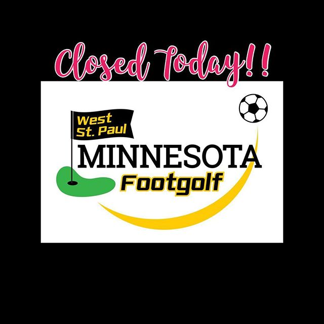 Course is closed today in observance of Labor Day!⛳️⚽️