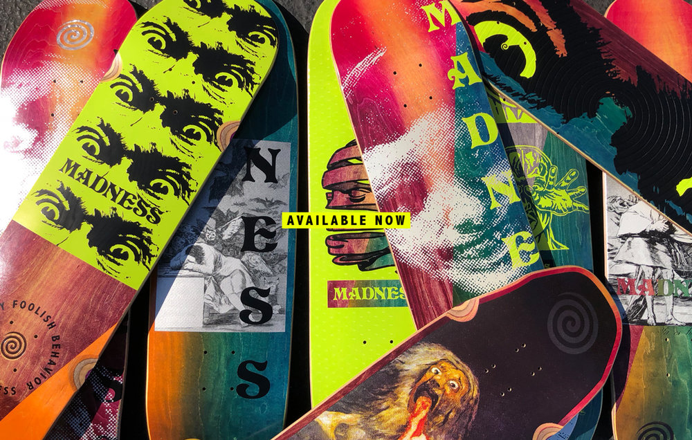 DROP 1 — Madness Skateboards cf0c3154a3b