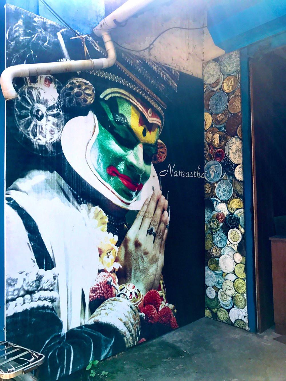 street art, Kochi, Kerala, India