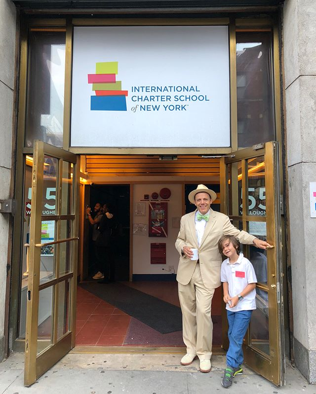 A Day in the Life of Mr. Levey. Another auction item comes to fruition—this lucky 2nd grader got to shadow our school founder for the day! Hopefully Luca gives us a full report on what the day entailed.... Photo credit: @chubomatic @lollygogo