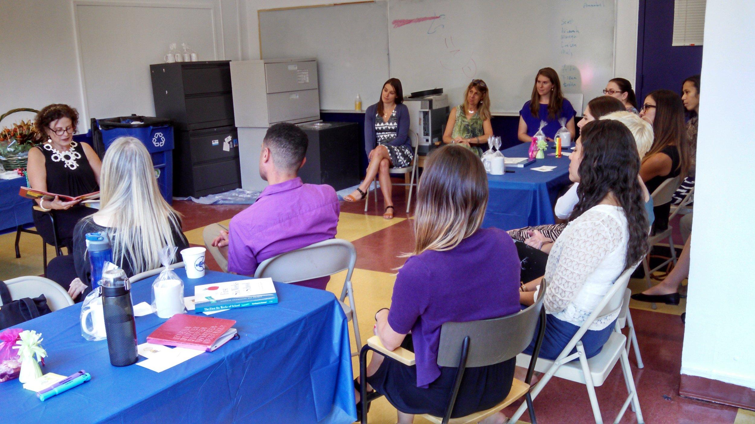 Daria Rigney leading teacher training