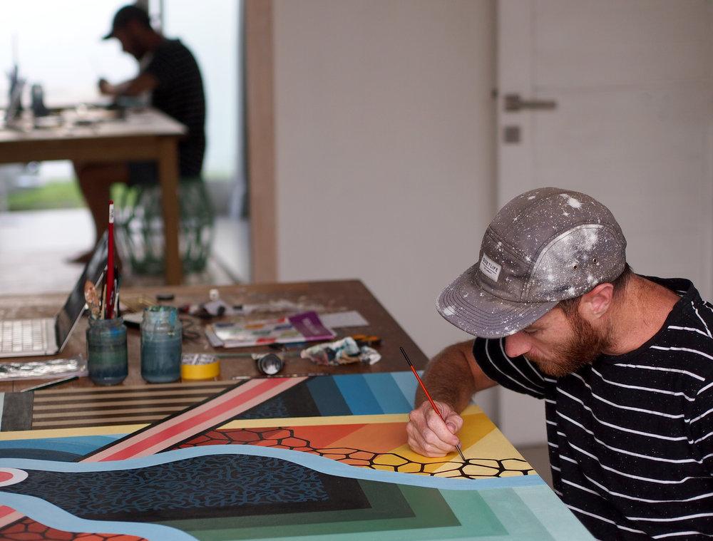 Backwoods Gallery artist Beastman