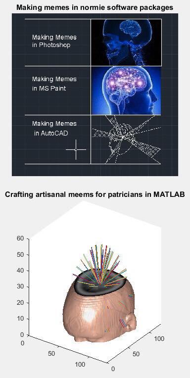 Behind The Meme Expanding Brain In Matlab Justin Lee