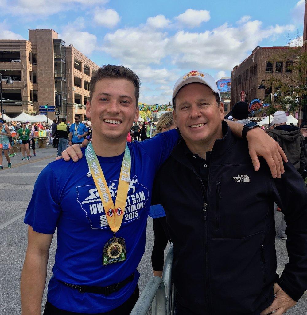 26.2 miles @ the Des Moines Marathon.