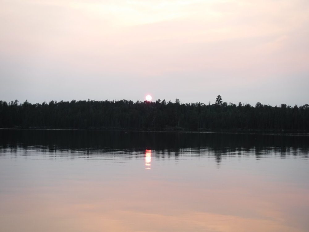 Image by Emily Jahn. Basswood Lake, BWCAW