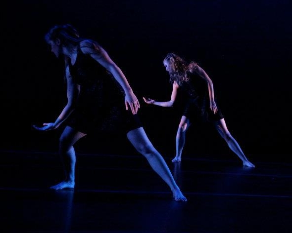 """From """"A Return to Instinct"""", Dancers: Taylor Augustine &Mollie Wolf"""