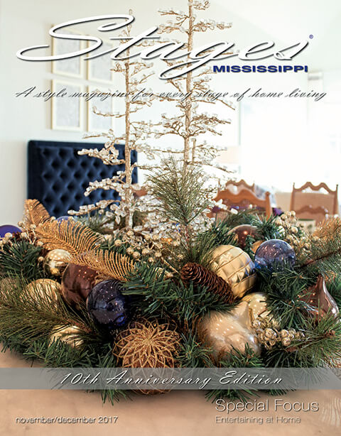 Stages Mississippi Magazine November/December 2017