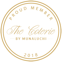 Proud Member of The Coterie By Munaluchi