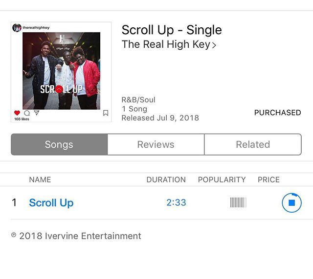 So very proud of these young men and artist @therealhighkey ❤️💯 Please support this one of a kind #harmony #sundayvibes #myplaylist #music #awesome
