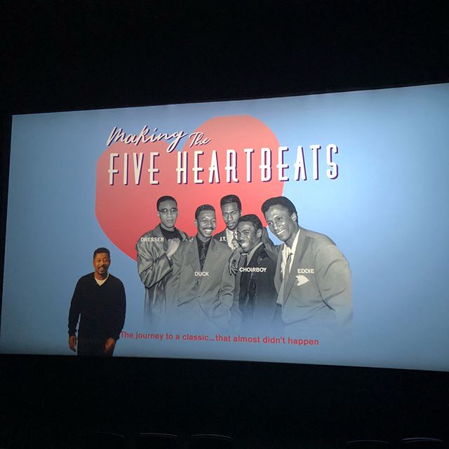 Really, really want to thank @iamroberttownsend for doing this #documentary on #fiveheartbeats 🙌🏾🙌🏾💯 I'm going to share with you all something The Five Heartbeats movie did for me at a later date and something my wife's hometown did for the movie 🧐 if you saw the documentary you already know the city #pasadena 😊 #blessed