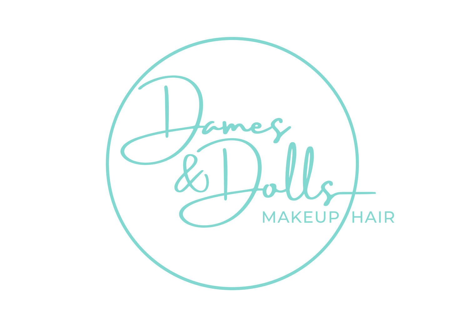 Dames and Dolls Makeup and Hair