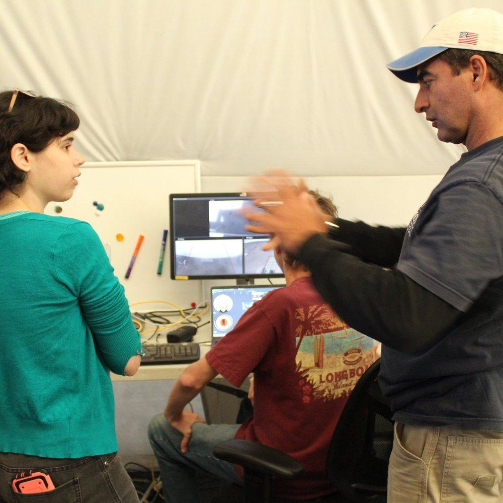 associate-producer-kara-lieff-and-program-manager-rodrigo-romo-discuss-the-rover-mission-before-shooting_23489446718_o.jpg