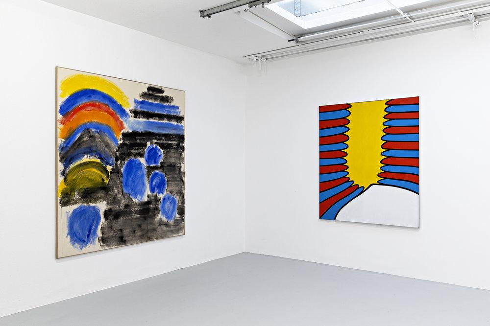 Installation view 6_Three Americans_Galerie Mueller.jpg
