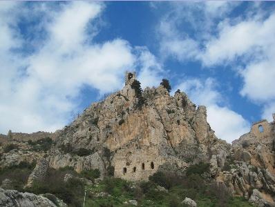 Palace on the rocks