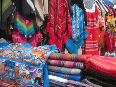 Otavalo open air market