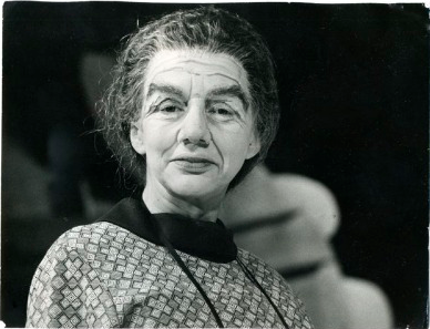 As Golda Meir in ME by C P Taylor.  Citizens Theatre, Glasgow.