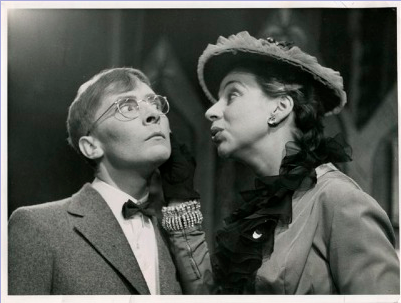 With Kenneth Williams in THE BUCCANEER.  Lyric, Hammersmith and Apollo Theatre.