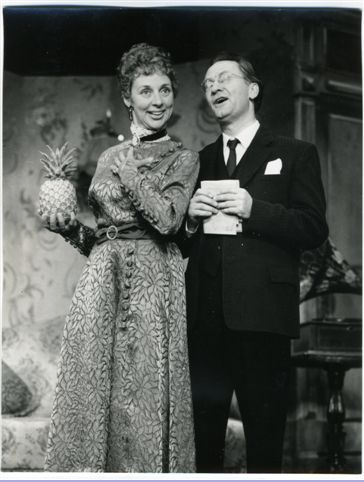 "With Peter Sallis in CABARET. ""A pineapple...for me..."""