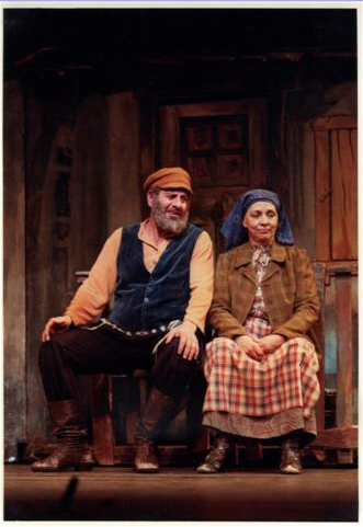 As Golde in FIDDLER ON THE ROOF.  With Topol.  I played the part 4 times.