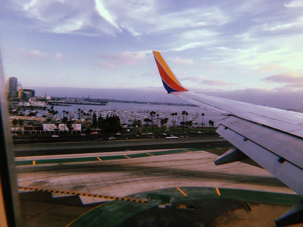 Landing: San Diego