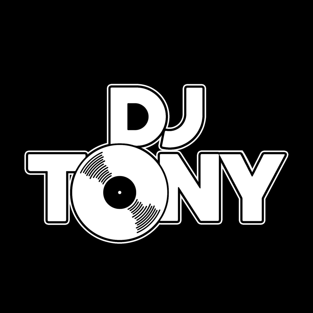 DJ Tony logo white