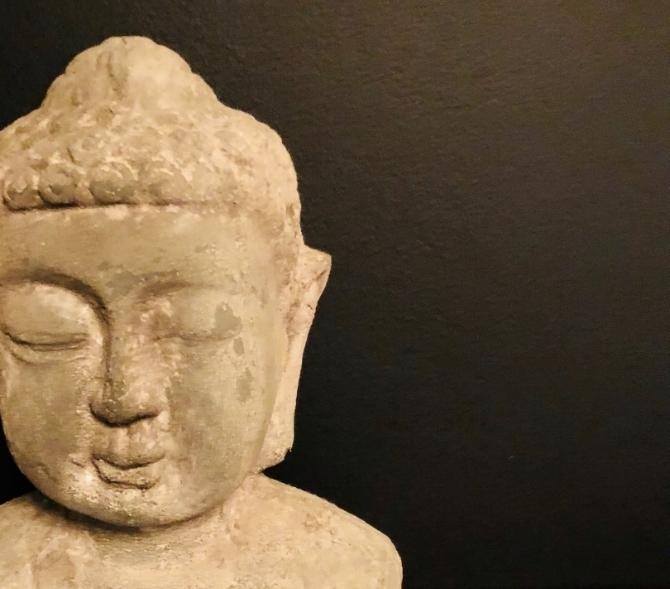 Massage Osteopathy Bondi Junction Massage Room Small Budha Head.jpg