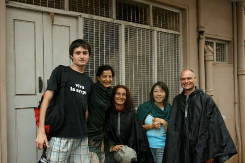 At the Old Shala in Mysore | 2007  With Denise Chew, Frederic De Meyer, Susanna Finocchi and Jens Bache  Thanks to Denise for taking me there for my first time, and for having met so many nice people I'm still friends with today.