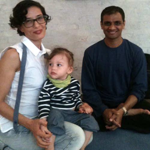 Lena meets Sharath in Copenhagen 2012