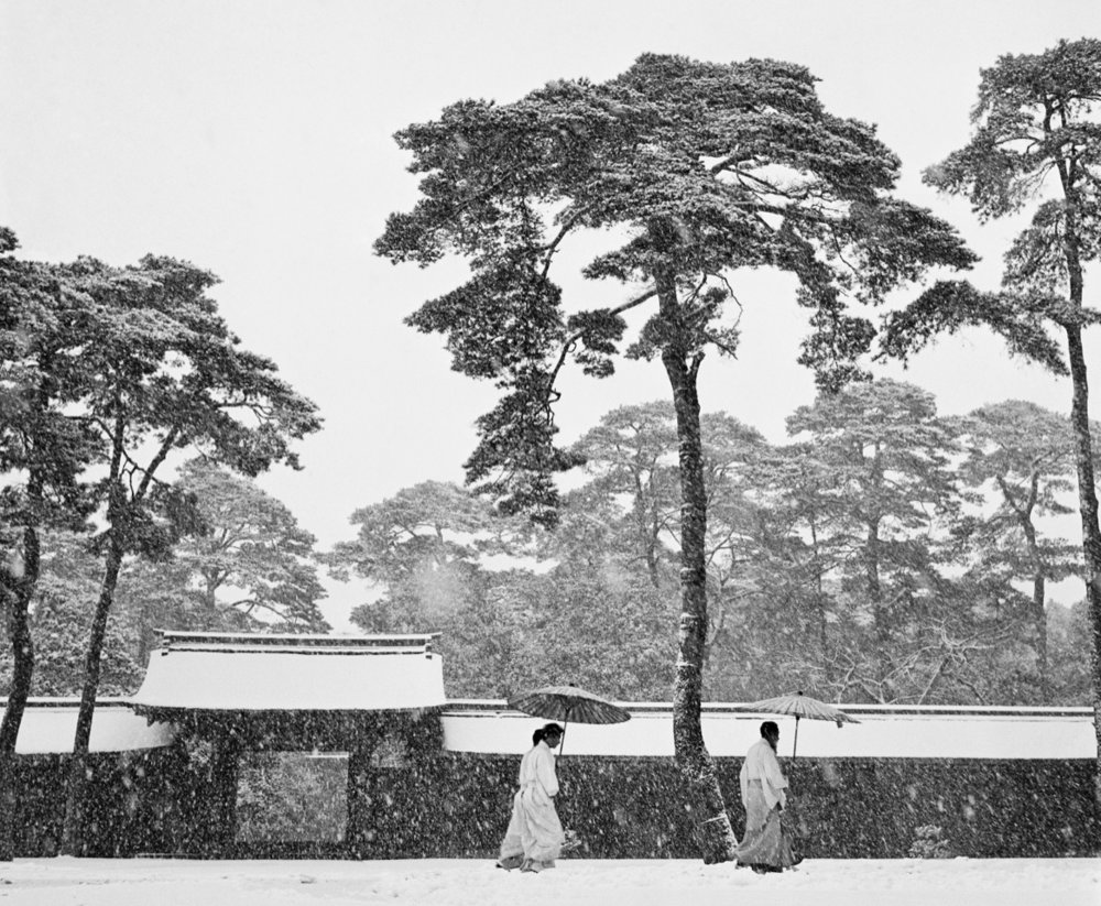 MEIJI SHRINE, Tokyo, Japan - 1951Silver Gelatine PrintFramed with museum glass60 x 80 cmOpen edition