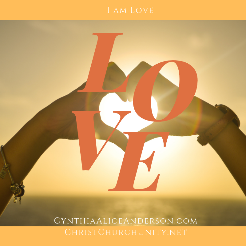Daily Affirmation - I Am Love — Experience of the Soul