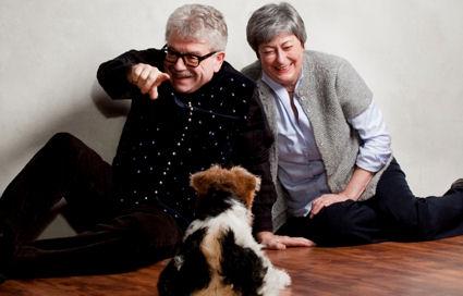 Helga & Peter Noventa - Wir sind Chefin, Wirt und Intendant,gemeinsam haben wir Kunstpädagogik an der Nürnberger Akademie studiert und machen seit 1974 selbständig Gastronomie.