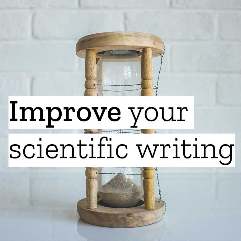 Improve Your Scientific Writing