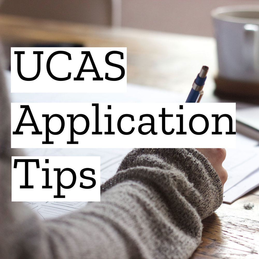 UCAS Application Tips