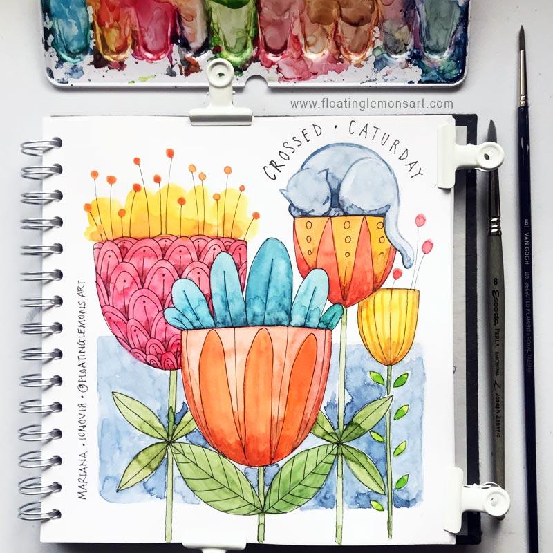 21 November 2018   Daily Art: Days 2 - 13