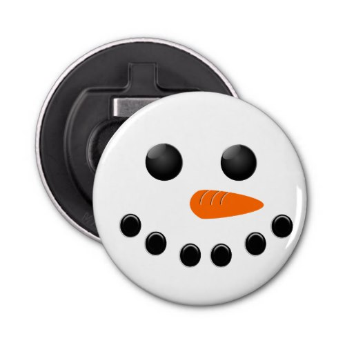 Snowman Bottle Opener by  Colors and Designs  for Zazzle  USA  and  UK