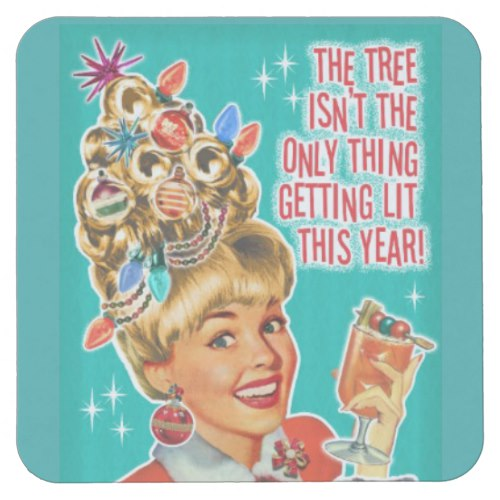Funny Christmas Cocktail Party Drink Coasters 6 by  MyDesignStudio  for Zazzle  USA  and  UK