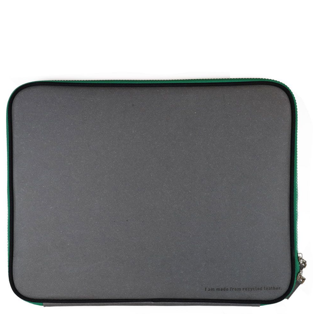 Recycled leather laptop sleeve by Paperchase
