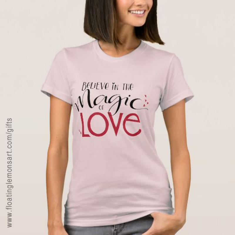 Magic of Love Fine Jersey T-Shirt: Floating Lemons Art -  USA  and  UK