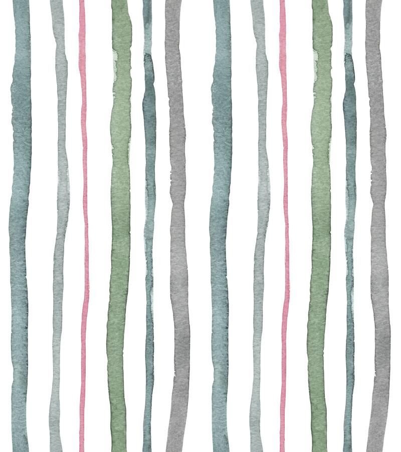 Cacohony Stripes Grey by  Floating Lemons Art