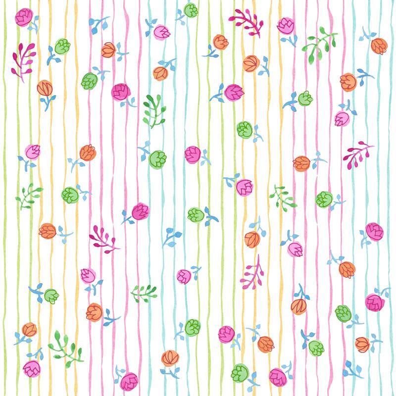 Pretty Flowers by  Floating Lemons Art