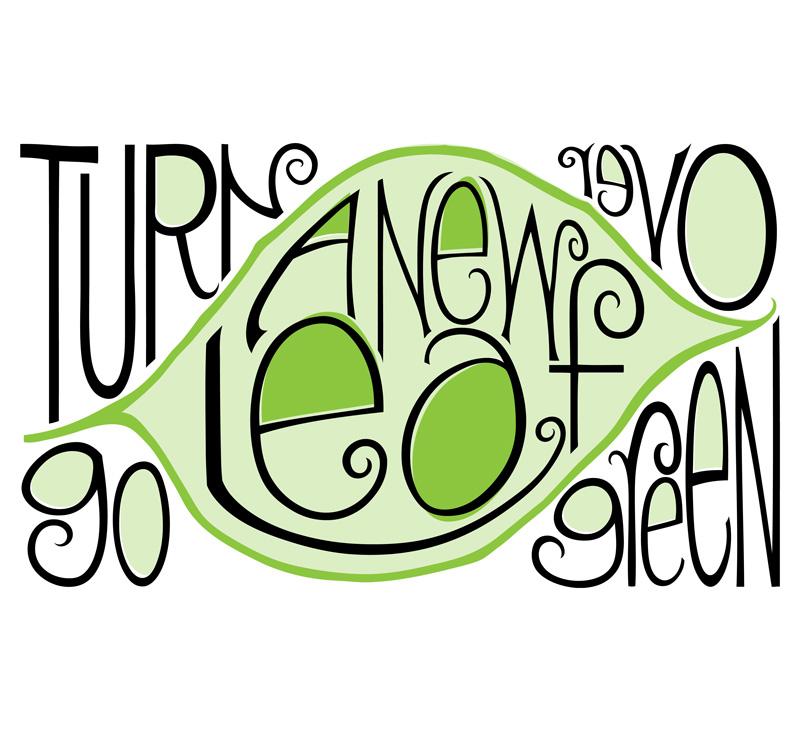 Go Green by  Floating Lemons Art